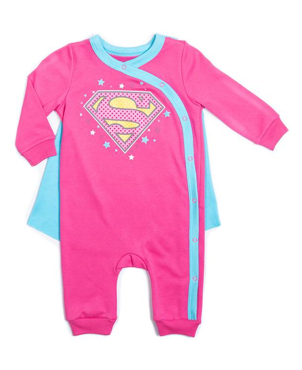 Mameluco Bebita Superman
