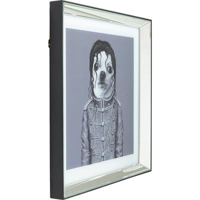 Cuadro Mirror King Dog 60x60cm