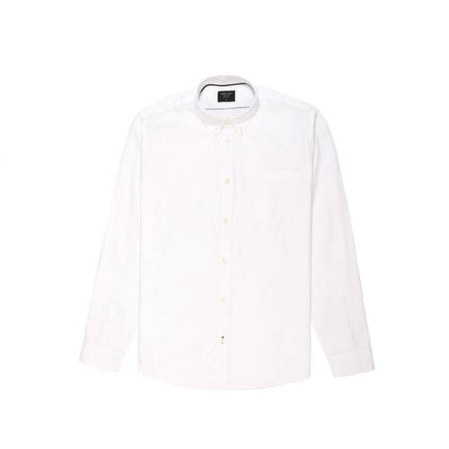 Camisa Murray Manga Larga  - Blanco