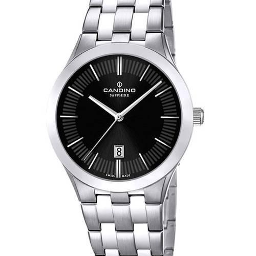 Reloj acero-negro 43-3