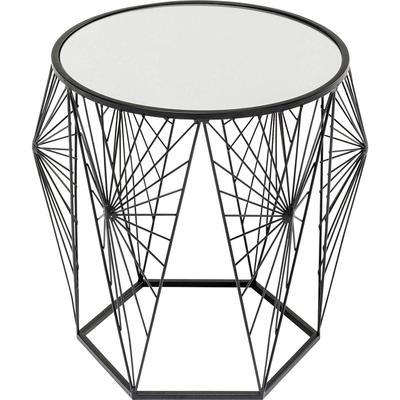 Mesa auxiliar Cobweb negro (2/Set)
