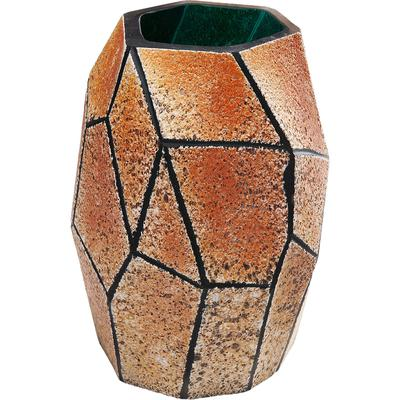 Vasija Stone dorado mediano