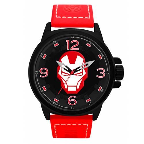 Reloj Análogo Negro-Rojo Umb-Im01-1