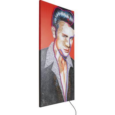 Cuadro Idol James Neon 160x80cm
