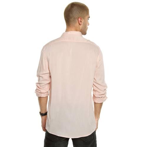 Camisa Manga Larga La Jolla Rose Pistol Para Hombre - Rosado