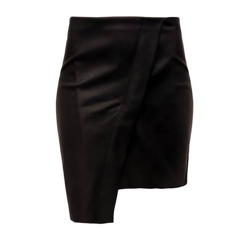 Falda Color Siete para Mujer  - Negro