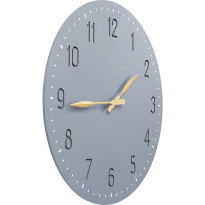 Reloj pared Mailo gris Ø50