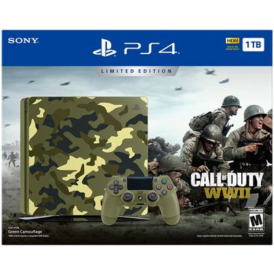 PlayStation 4 Slim 1TB Edicion Especial Call of Duty WWii