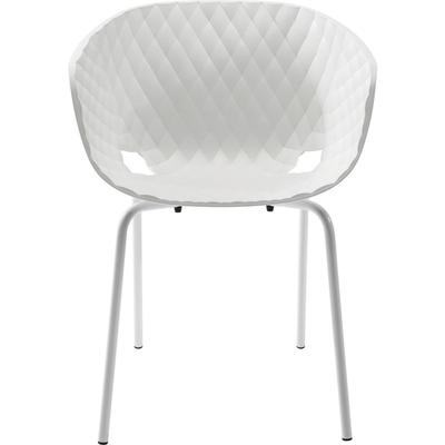 Silla reposabrazos Radar Bubble blanco