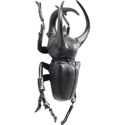 Decoración pared Atlas Beetle mate negro