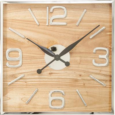 Reloj pared Lodge 50x50cm