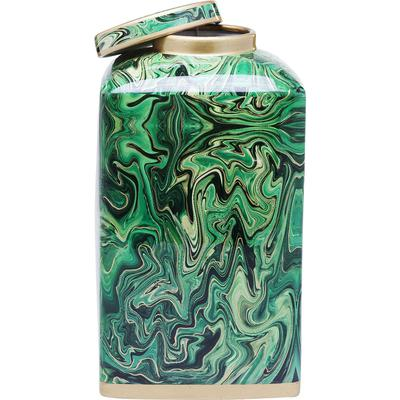 Vasija decorativa Malachite 28cm