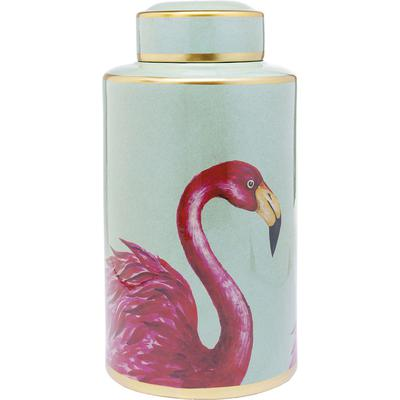 Vasija decorativa Flamingos 39cm