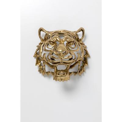 Decoración pared Tiger oro