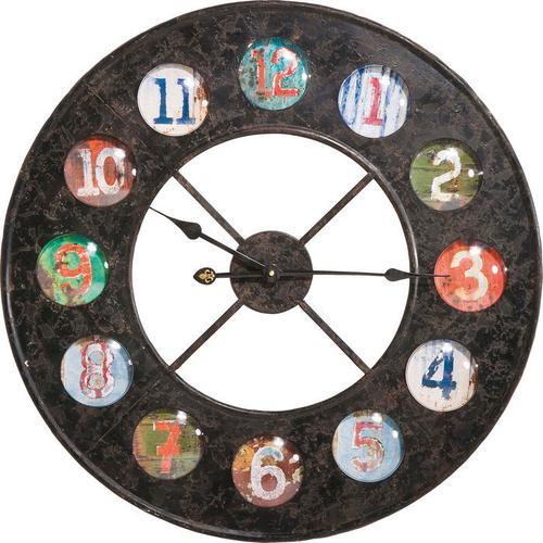 Reloj pared Vintage Colores Dia 70cm