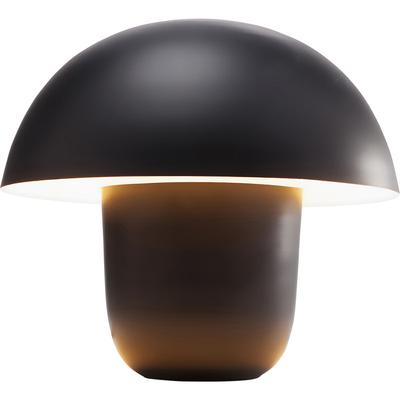 Lámpara mesa Mushroom negro peq.