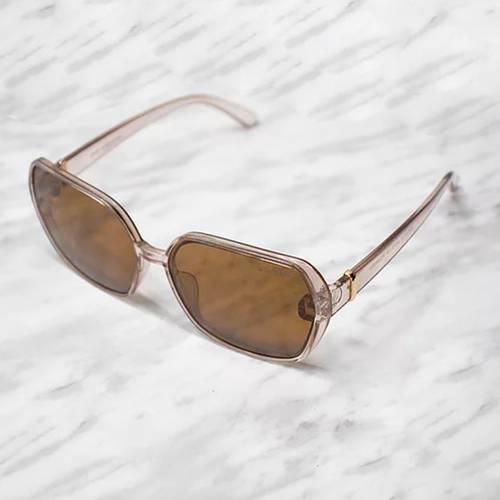 Gafas de sol polarizada con filtro UV 400 Marrón - Dorado