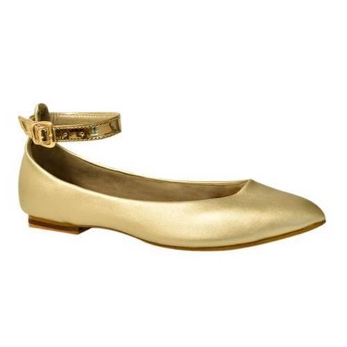 Baletas Pulsera Alicia Dorado