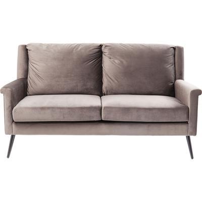 Sofá Zweisitzer San Remo gris