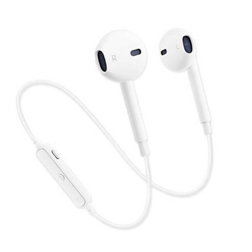 Audífonos Bluetooth S6 - Blanco