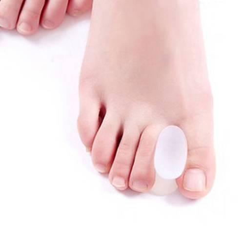 2 Pares de Separadores de dedo para juanete en silicona
