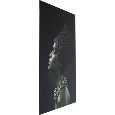 Cuadro cristal Hairstyle Profile 150x100cm