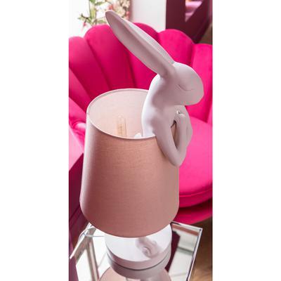 Lámpara mesa Animal Rabbit blanco rosa