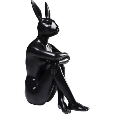 Figura decorativa Gangster Rabbit negro