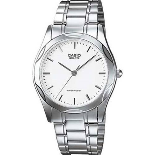 Reloj Análogo Blanco-Plateado D-7A - Casio