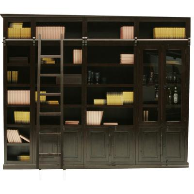 Cabana Biblioteca - elemento vitrina