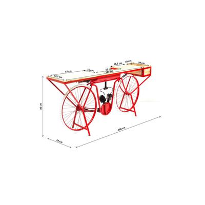 Consola Bike rojo
