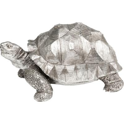 Figura decorativa Turtle plata mediano