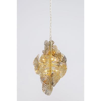 Lámpara Leaf oro