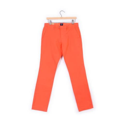Pantalon Color Siete para Hombre - Naranja