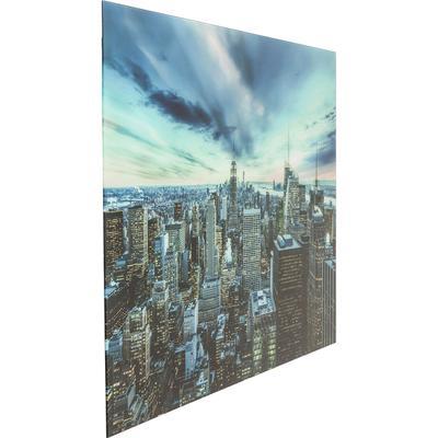 Cuadro cristal New York Sunset  120x160cm