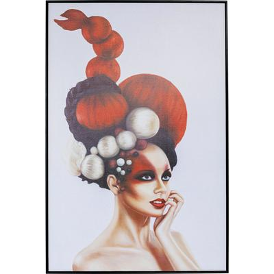 Cuadro Art Lady In Red 120x80cm