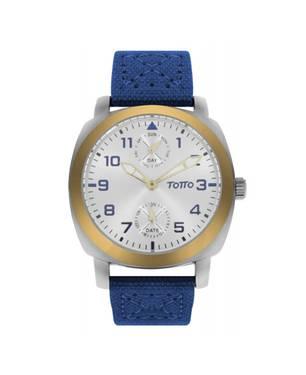 Reloj análogo azul-azul 18-4