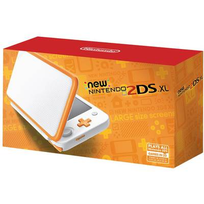 New Nintendo 2DS XL Blanco/Naranja