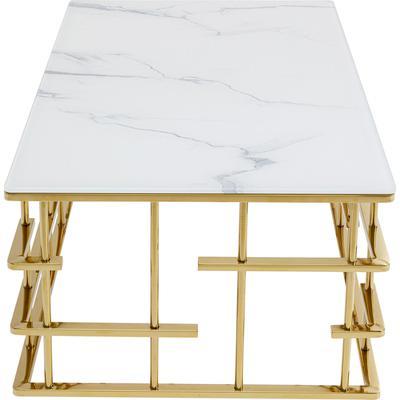 Mesa centro Rome oro 130x70cm