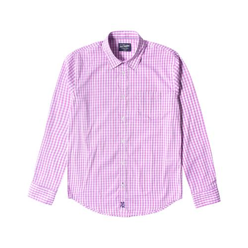 Camisa Manga Larga Springs Jack Supplies Para Hombre  - Morado