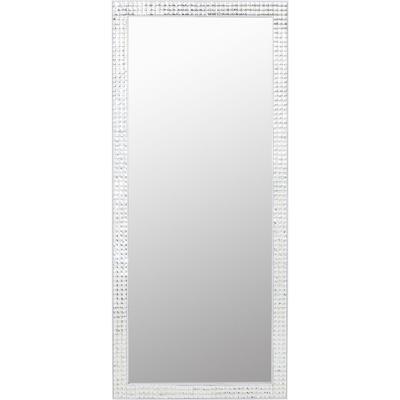 Espejo Crystals Steel blanco 180x80cm