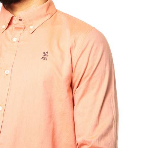 Camisa Manga Larga Jack Supplies para Hombre - Rosa