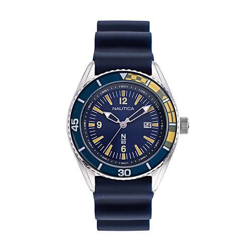 Reloj urban surf Azul - Plateado