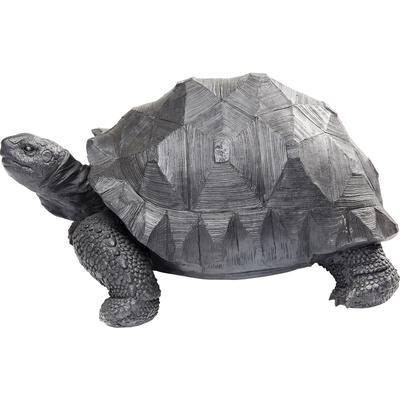 Figura decorativa Turtle negro mediano