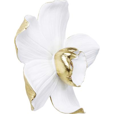 Decoración pared Orchid blanco 25cm