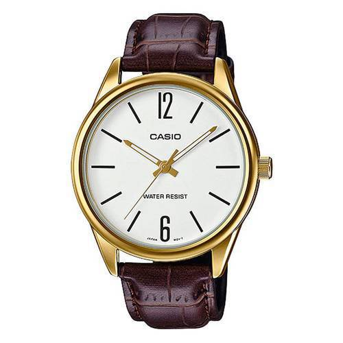 Reloj Análogo Blanco-Café L-7B - Casio