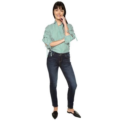 Jean Nolita Color Siete Para Mujer  - Azul