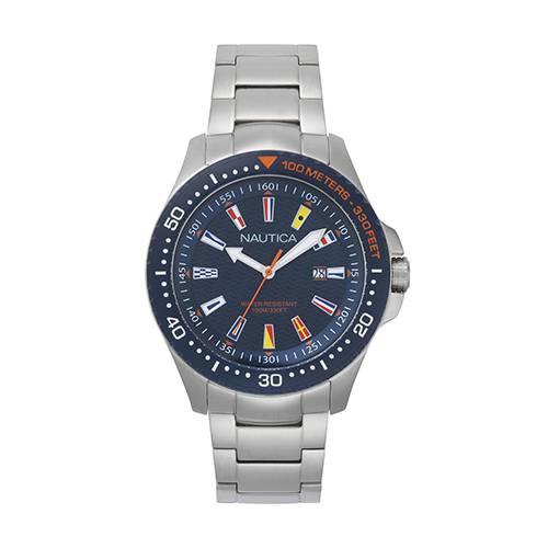 Reloj jones beach collection Azul - Plateado