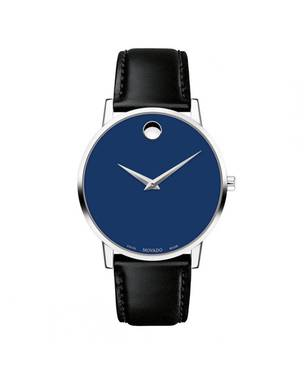Reloj análogo azul-negro 7270