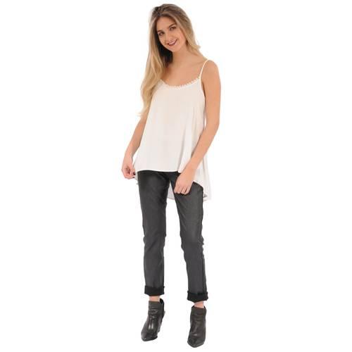 Blusa Chloe Rosé Pistol Para Mujer  - Blanco